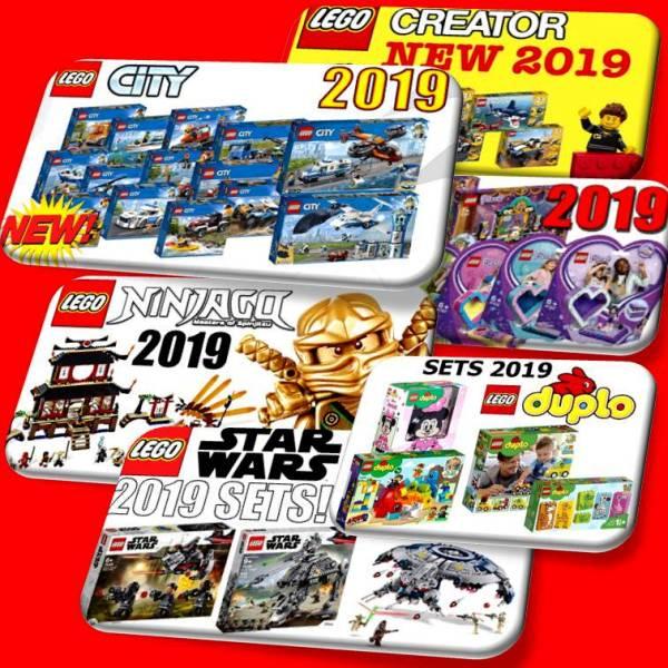 Novità LEGO 2019